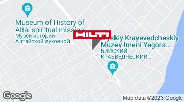 Региональный представитель Hilti в г. Бийск