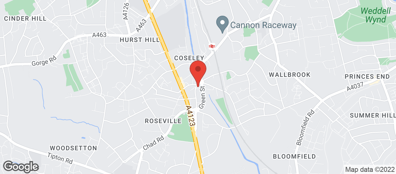 Coseley Library location and directions