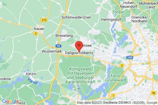 Karte Dallgow-Döberitz