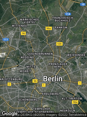 Google Map of Gesundbrunnen