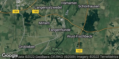 Google Map of Tangermünde