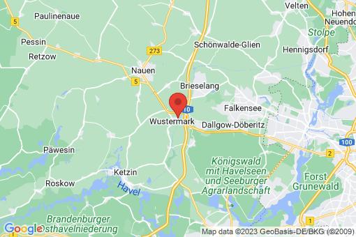 Karte Wustermark