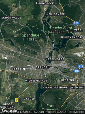 Google Map of Spandau