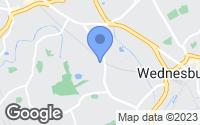 Map of Bilston, West Midlands