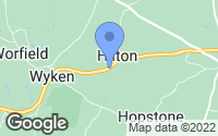 Map of Hilton, Shropshire