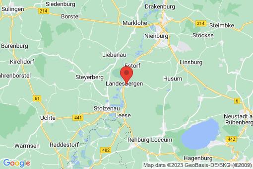 Karte Landesbergen