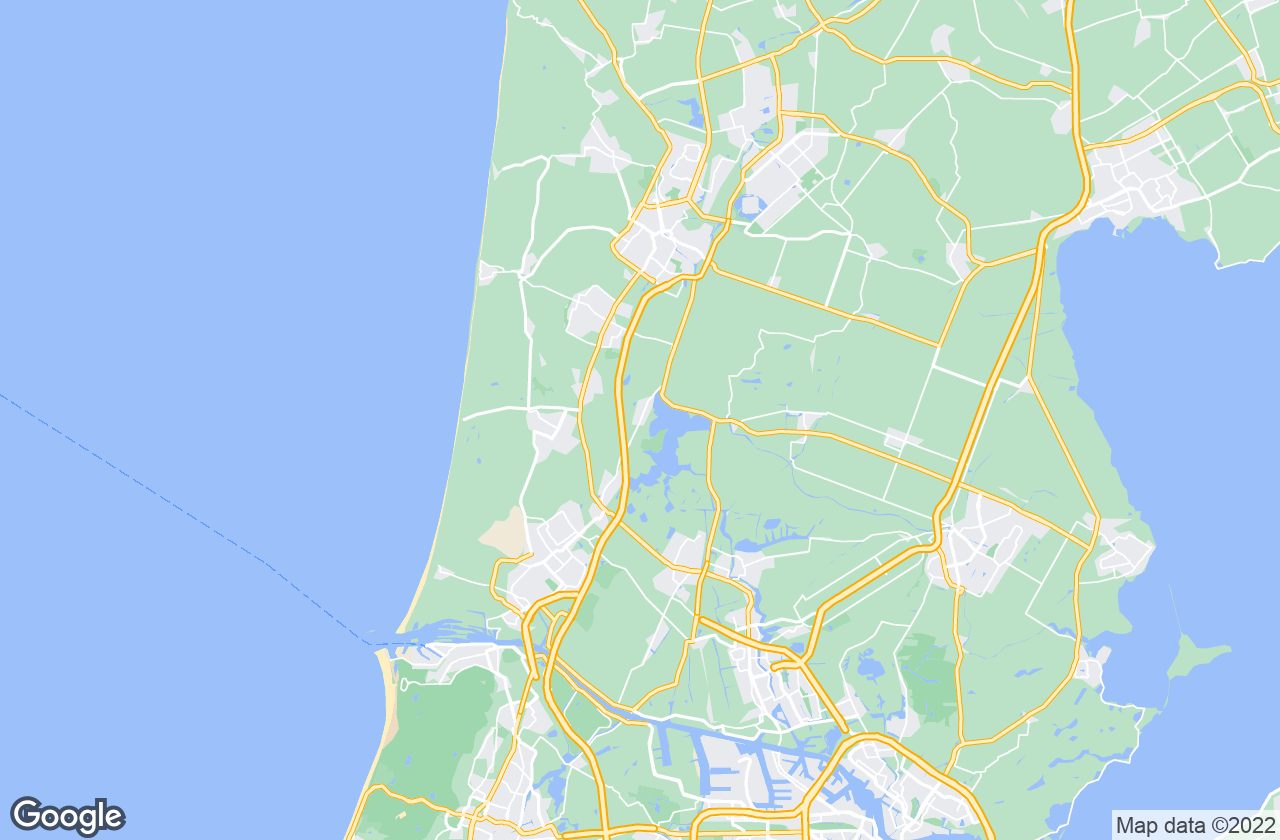 Google Map of Akersloot