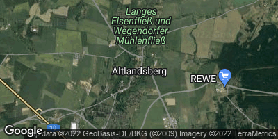 Google Map of Altlandsberg