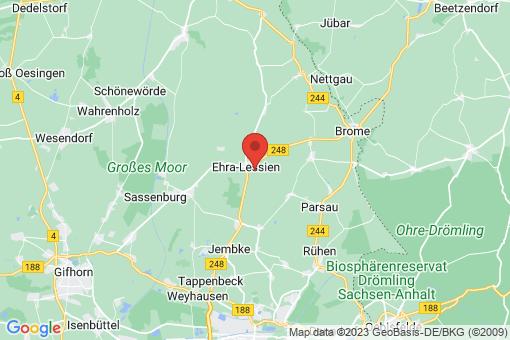 Karte Ehra-Lessien