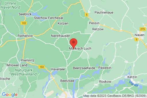 Karte Märkisch Luch Garlitz