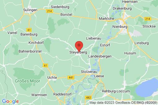 Karte Steyerberg Steyerberg