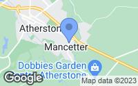 Map of Atherstone, Warwickshire
