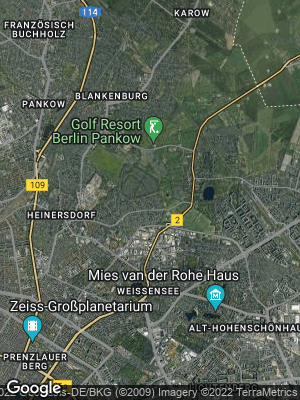 Google Map of Stadtrandsiedlung Malchow