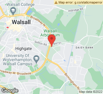 Map of Fiona Florist at 4 Gillity Avenue, Walsall, West Midlands WS5 3PH