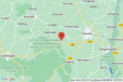 Karte Nahrstedt