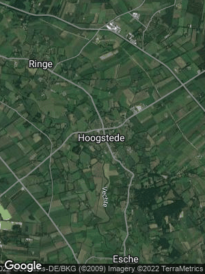 Google Map of Hoogstede