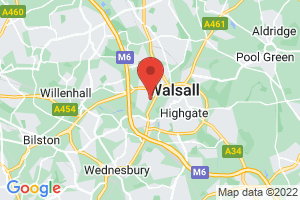 Walsall Healthcare NHS Trust on the map