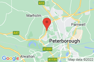 Laxton Library (Peterborough City Hospital) on the map