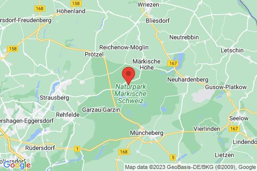 Karte Oberbarnim Bollersdorf