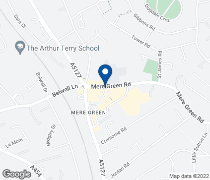 Map of 4 Mulberry Walk in Mere Green