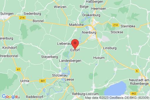 Karte Estorf Estorf