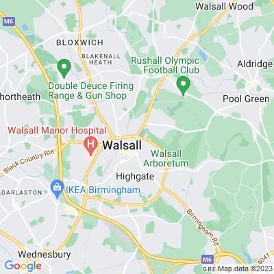 Walsall Arboretum Location