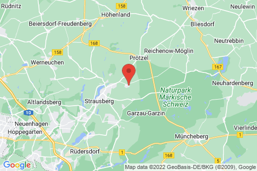 Karte Oberbarnim Klosterdorf