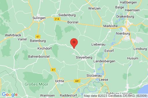 Karte Steyerberg Deblinghausen