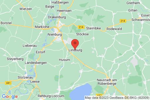 Karte Linsburg
