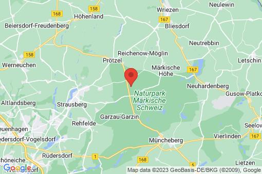 Karte Oberbarnim