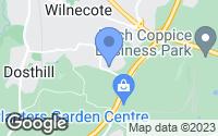 Map of Tamworth, Staffordshire