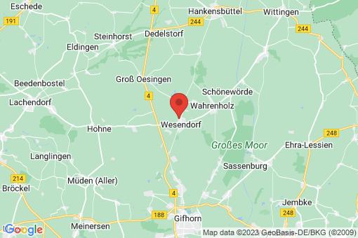 Karte Wesendorf