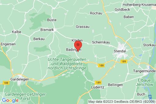 Karte Querstedt