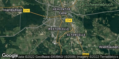 Google Map of Westercelle