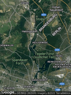 Google Map of Heiligensee