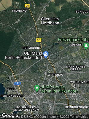 Google Map of Waidmannslust