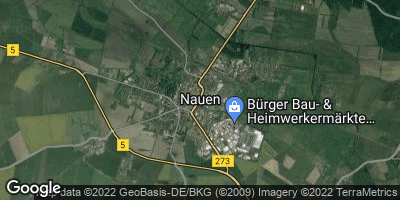 Google Map of Nauen