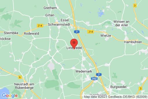 Karte Lindwedel