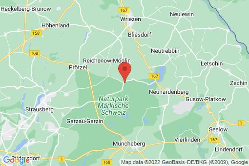 Karte Märkische Höhe Reichenberg