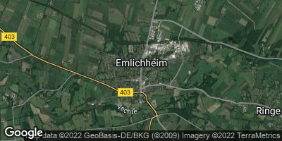 Google Map of Emlichheim