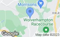 Map of Wolverhampton, West Midlands