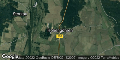 Google Map of Hohengöhren