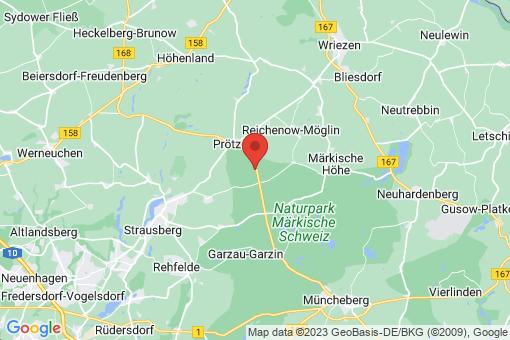 Karte Prötzel Prädikow