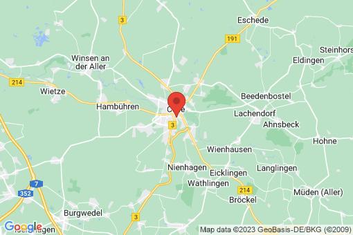 Karte Celle