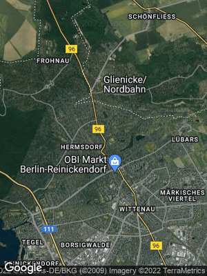 Google Map of Hermsdorf