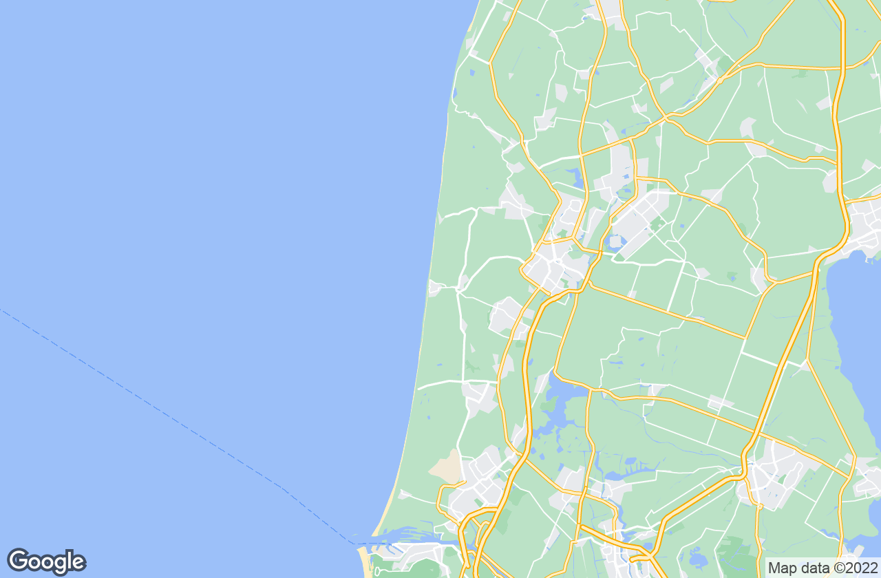 Google Map of Egmond aan Zee