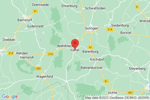 Karte Varrel