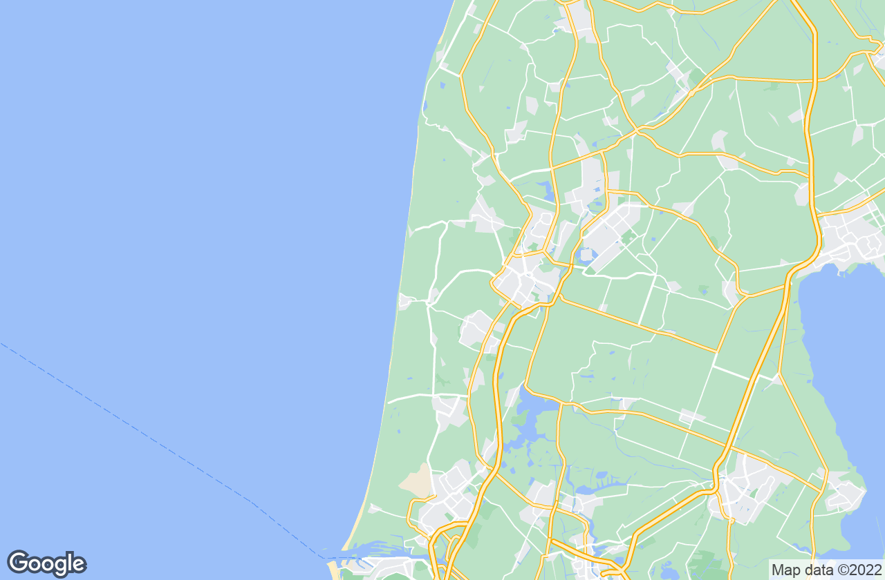 Google Map of Egmond aan den Hoef