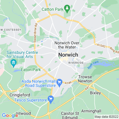Chapelfield Gardens Location