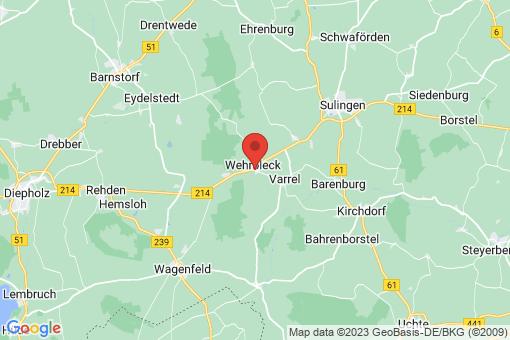 Karte Wehrbleck